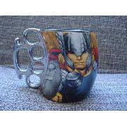 Caneca Porcelana Thor Vingadores Coleção Presente
