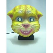 Mascara Gato Ginger Cat Festa Fantasia Haloween