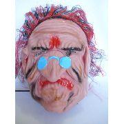 Mascara Velho Vovo Fantasma Festa Fantasia Haloween 3d