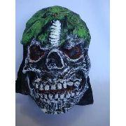 Mascara Fantasma Monstrocobra Verde Fantasia Haloween 3d
