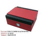 Caixa Umidificador 25 Charutos Madeira Cedro Vg253257