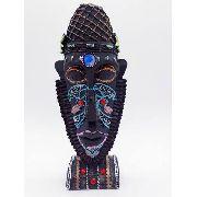 Enfeite Máscara Africana Resina Estátua Decoração Escultura