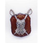 Enfeite Decorativo Medieval Brasão Retro Vintage Coleção 110