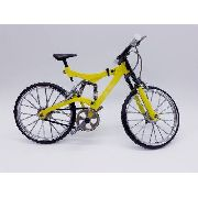 Miniatura Bicicleta Track Moutain Bike Mini Amarela