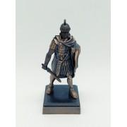 Apontador Metal Soldado Romano Pretoriano Batalha Coleção