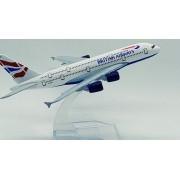 - Avião British Airways Jato Miniatura