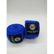 - Bandagem Elástica 03 Metros Boxe/muay-thai Azul Revanche