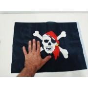 - Bandeira Pirata Jolly Roger 30x20cm