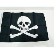 - Bandeira Pirata Jolly Roger 30x20cm Cranio