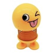 Boneco Emoji Enfeite Painel Carros De Mola Meme