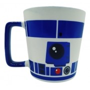 Caneca Ceramica Vader Star Wars R2d2 Robo Zona Criativa
