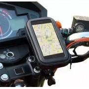 - Capa Suporte Prova D'água Celular 6,3 Pol Para Moto Bike Gps