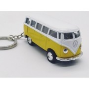 - Chaveiro Metal Kombi Clássica Miniatura Amarela 7cm
