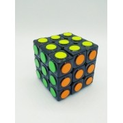 - Cubo Mágico 3x3x3 Dot Magic Cube Profissional Interativo