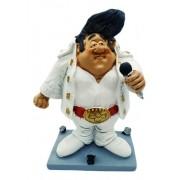 - Enfeite Resina Estátua Elvis Presley 17cm Gordinho