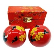 Esferas Para Massagem Terapeuticas Bolas Chinesas Relaxante