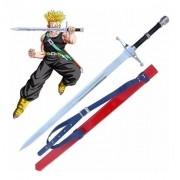 - Espada Dragon Ball Z Future Trunks Brave Sword Com Bainha
