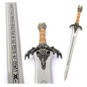 - Espada Pai Do Conan Inox Tamanho Real C Suporte De Parede