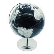Globo Terrestre Black Planisferio Escolar Mapa Atlas 21cm
