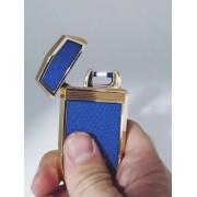 - Isqueiro Luxo Arc Plasma Carregamento Usb Jobon Azul
