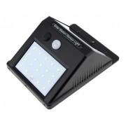 Luminária Solar 40w Sensor De Presença Balizador 20 Leds