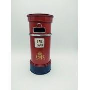 - Mini Cofre Caixa De Correio Londres Inglaterra Metal Vintage