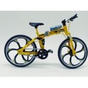 - Miniatura Bicicleta Moutain Bike Mini Amarela Aero M-22