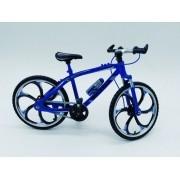 - Miniatura Bicicleta Moutain Bike Mini Azul Crazy