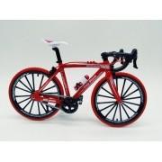 - Miniatura Bicicleta Moutain Bike Mini Vermelha Crazy