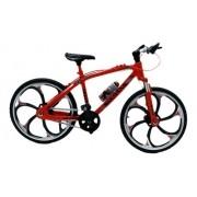 Miniatura Bicicleta Moutain Bike Mini Vermelha Crazy