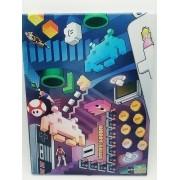 - Placa Metal Games Anos 80/90 Coleção 27x20cm Vintage
