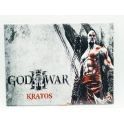- Placa Metal God Of War Kratos 27x20cm Ask The Axe Game