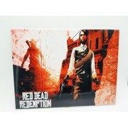 - Placa Metal Red Dead Redemption 2 27x20cm Game