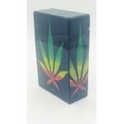 - Porta Cigarros Cigarreira Folha Carteira 20 Cigarro Jamaica