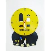 - Relógio De Parede Os Simpsons Mdf Abey Road