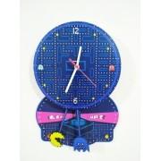 - Relógio De Parede Pac Man Come Come Mdf Game Retro Anos 80