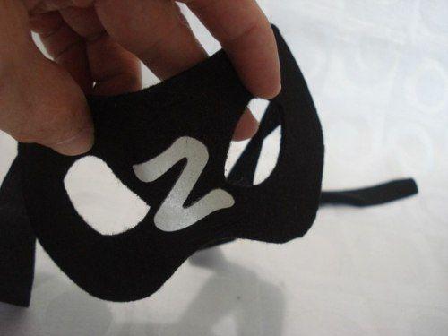 Conjunto 10 Peças Máscara Zorro Fantasia Cosplay Festas  - PRESENTEPRESENTE