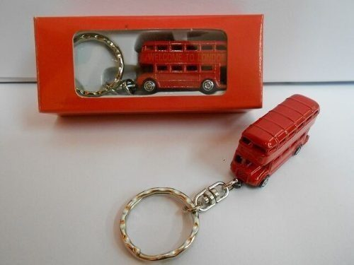 Chaveiro Ônibus Londrino Dois Andares frete grátis  - Presente Presente