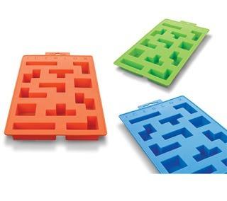 Forma De Gelo Silicone Iceblocks Peças Tetris  - PRESENTEPRESENTE