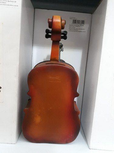 Cofre Resina Violoncelo Orquestra Vintage Retro  - PRESENTEPRESENTE