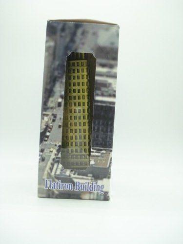 Miniatura Prédio Flatiron Building Enfeite Decoração Metal  - PRESENTEPRESENTE
