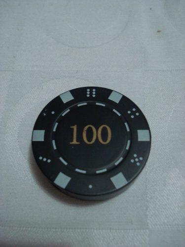 Isqueiro Ficha De Poker Ideal Para Coleção Frete R$ 8,00  - José Geraldo Almeida Marques