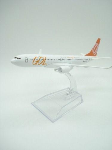 Avião Miniatura Gol Metal  - PRESENTEPRESENTE
