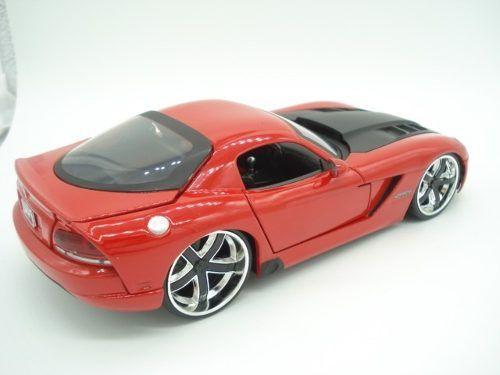 Carrinho Metal Dodge Viper 2008 Srt10 Big Time Vermelho  - PRESENTEPRESENTE