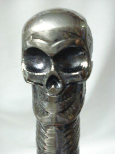 Bengala Espada Cranio Faca Camuflada 90x5 Cabo Caveira  - PRESENTEPRESENTE