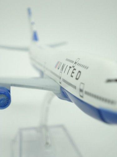 Avião United Jato Miniatura Mini  - PRESENTEPRESENTE