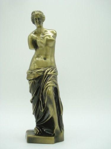 Enfeite Miniatura Venus De Milo Metal Luxo Arte  - PRESENTEPRESENTE