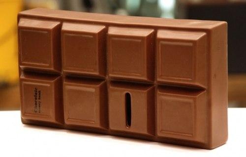 Cofre Barra De Chocolate cofrinho  - José Geraldo Almeida Marques
