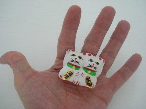 Gato Da Sorte Maneki Nekô P3 4cm  - José Geraldo Almeida Marques