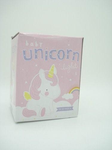 Abajur Unicórnio Led Mini Luminária De Mesa Baby  - Presente Presente